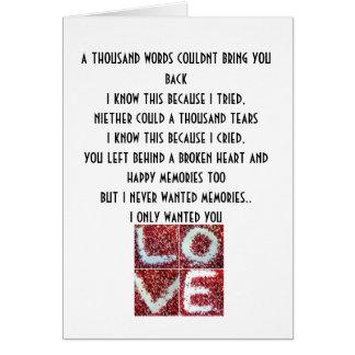 el amor del chem mil palabras no podría traerle b tarjeton