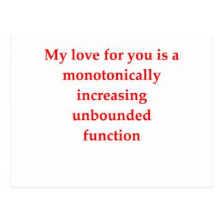 el amor del friki de la matemáticas coge la línea postal