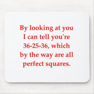 el amor del friki de la matemáticas coge la línea alfombrillas de raton