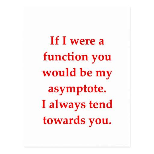 el amor del friki de la matemáticas coge la línea postales
