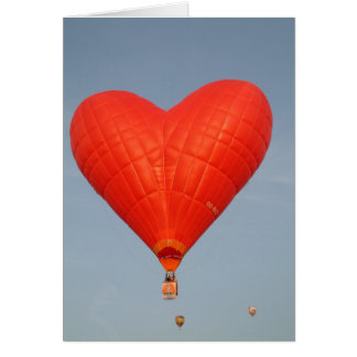 El amor del globo está en el aire felicitaciones