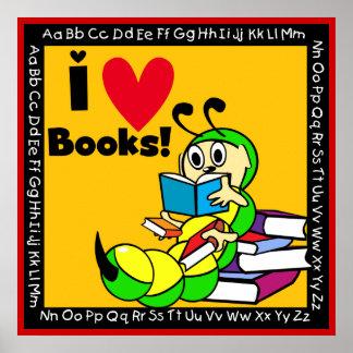 El amor del gusano de libro I reserva el poster Póster