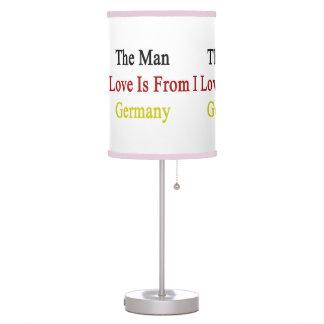 El amor del hombre I es de Alemania