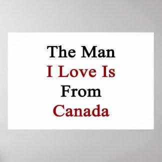El amor del hombre I es de Canadá Impresiones