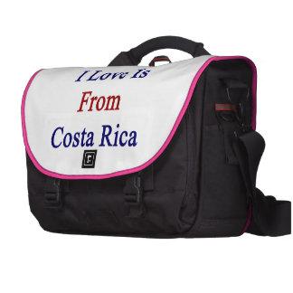 El amor del hombre I es de Costa Rica Bolsa Para Ordenador