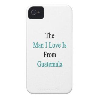 El amor del hombre I es de Guatemala iPhone 4 Case-Mate Cobertura