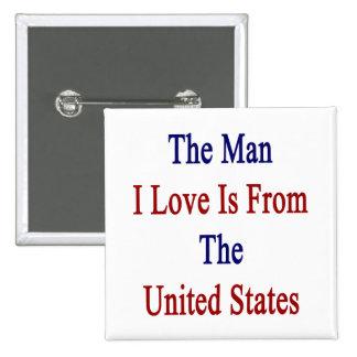 El amor del hombre I es de los Estados Unidos Pin