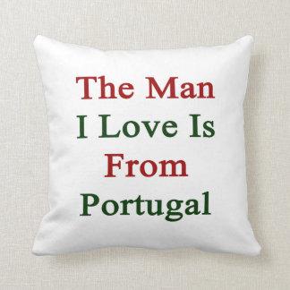 El amor del hombre I es de Portugal Cojin