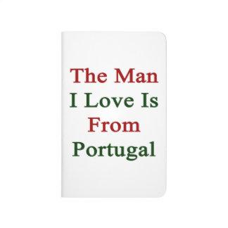 El amor del hombre I es de Portugal Cuaderno Grapado