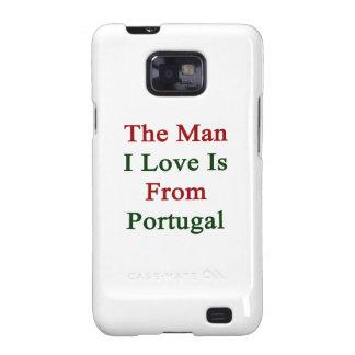 El amor del hombre I es de Portugal Samsung Galaxy S2 Carcasa