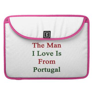 El amor del hombre I es de Portugal Funda Macbook Pro