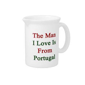 El amor del hombre I es de Portugal Jarras Para Bebida