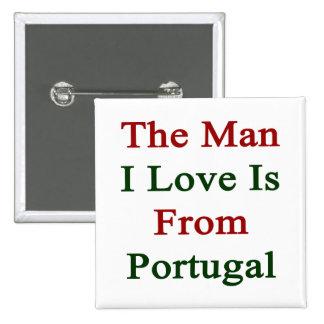 El amor del hombre I es de Portugal Pin