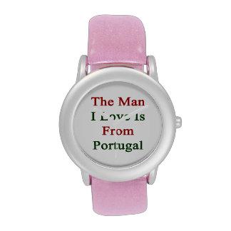 El amor del hombre I es de Portugal Relojes De Mano