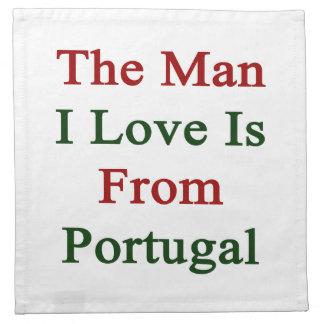 El amor del hombre I es de Portugal Servilleta