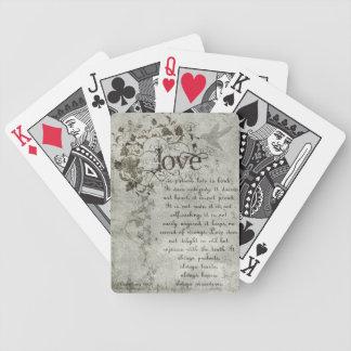 El amor del KRW es Corinthians que casan tarjetas Cartas De Juego