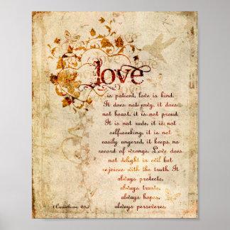 El amor del KRW es poster paciente de la cita de Póster
