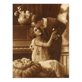El amor del vintage, romance, romántico, ahorra la postales