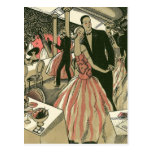 El amor del vintage, romance, romántico, ahorra la tarjetas postales