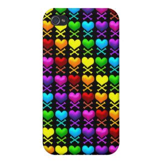 El amor deshuesa la caja de la mota del iPhone 4 iPhone 4 Fundas