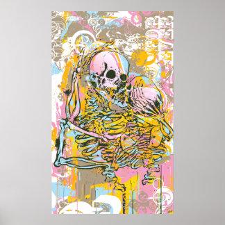 El amor después de la muerte remezcla póster