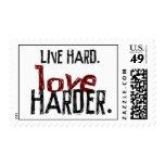 El amor duro vivo sella más difícilmente franqueo