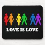 El amor es amor alfombrillas de ratón