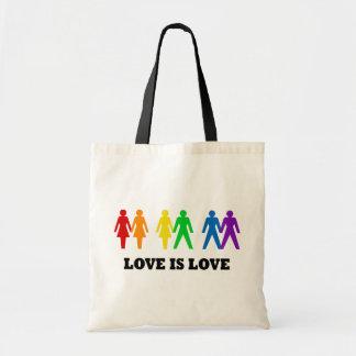 El amor es amor bolsa tela barata