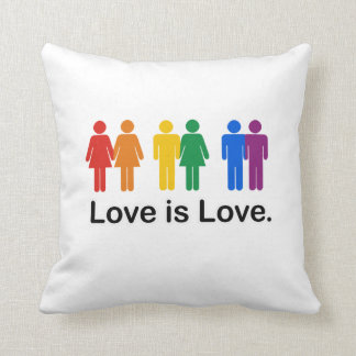 El amor es amor cojín