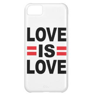 El amor es amor funda para iPhone 5C