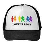 El amor es amor gorros