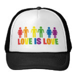 El amor es amor gorros bordados
