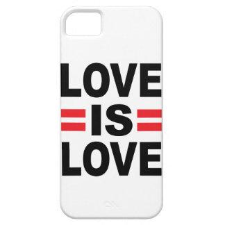 El amor es amor iPhone 5 fundas