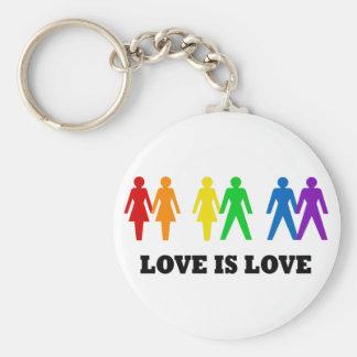 El amor es amor llaveros personalizados