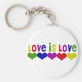 El amor es amor llavero personalizado
