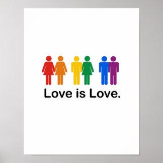El amor es amor poster