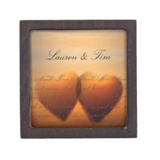 El amor es amor paciente es bueno caja de regalo de calidad