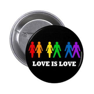 El amor es amor pin redondo 5 cm