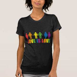 El amor es amor tee shirts