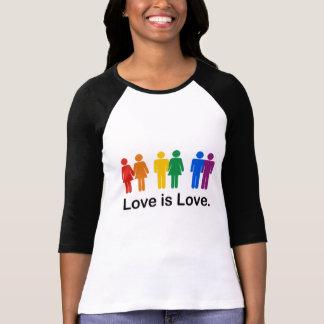 El amor es amor camisetas