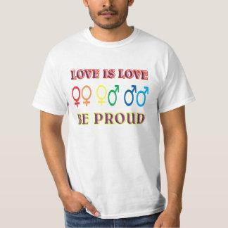 El amor es amor, sea orgulloso poleras