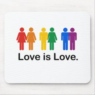 El amor es amor alfombrillas de raton