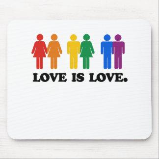 El amor es amor alfombrilla de raton