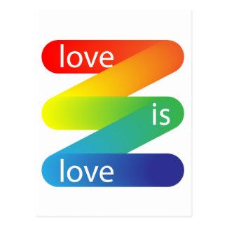 El amor es amor tarjetas postales