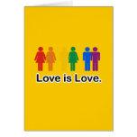 El amor es amor tarjetas