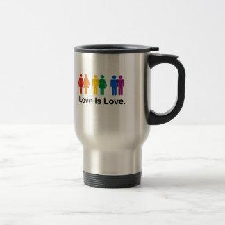 El amor es amor taza