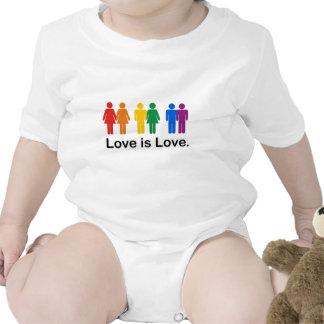 El amor es amor traje de bebé