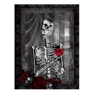 El amor es Annoucement que se casa gótico eterno Tarjetas Postales