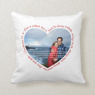 El amor es blanco y rojo pacientes del corazón de  almohadas