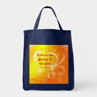 el amor es bolso de la belleza bolsa